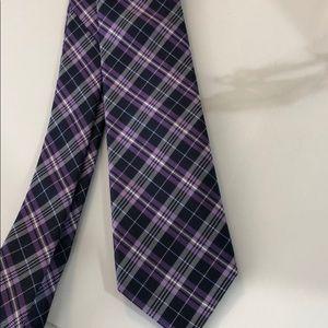 Ben Sherman purple/ blue narrow tie